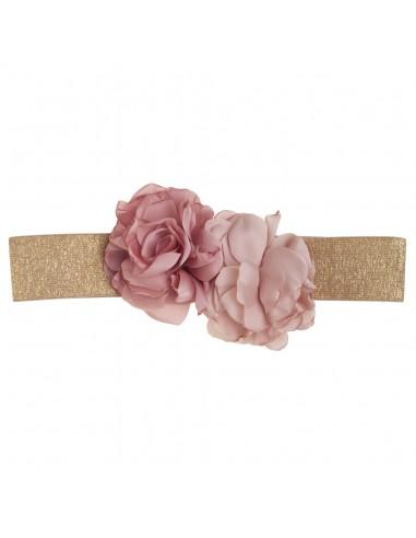 cinturón Viviana rosa viejo/nude