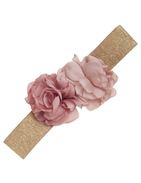 detalle cinturón Viviana rosa viejo/nude
