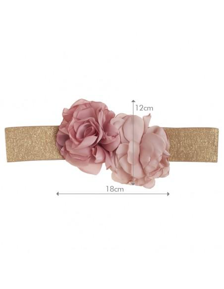 medidas cinturón Viviana rosa viejo/nude