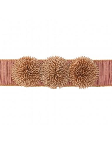 Cinturon Colette Nude/Oro