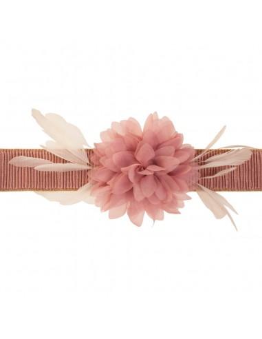 cinturón Eliette rosa nude