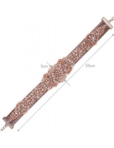 Cinturón Cadena Grecia Oro Rosa