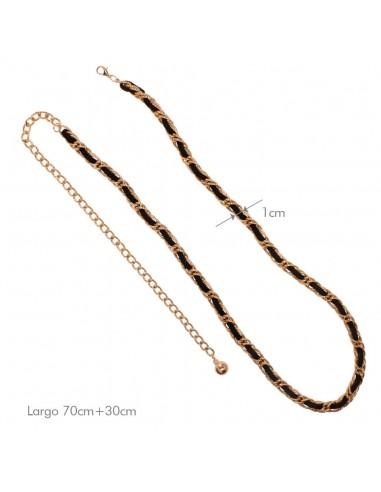 Cinturón zoe Negro/Oro