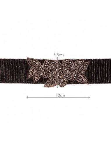 Cinturón Biyae Negro/Antracita