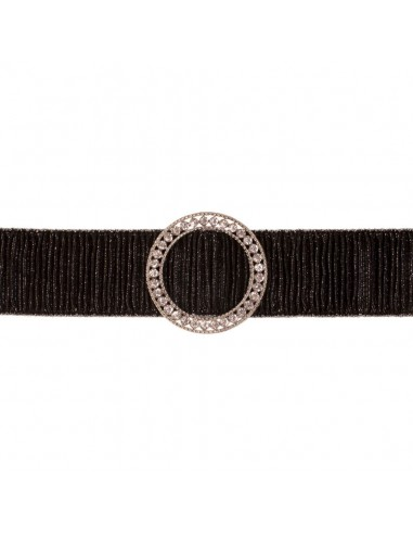 Cinturón Hebi Negro/Plata