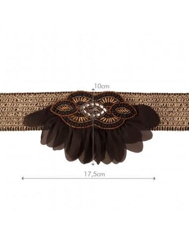 Cinturón Alsa Oro/Negro