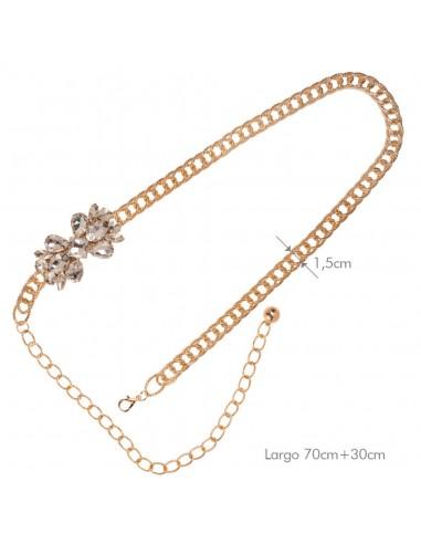 Cinturón Gia Oro