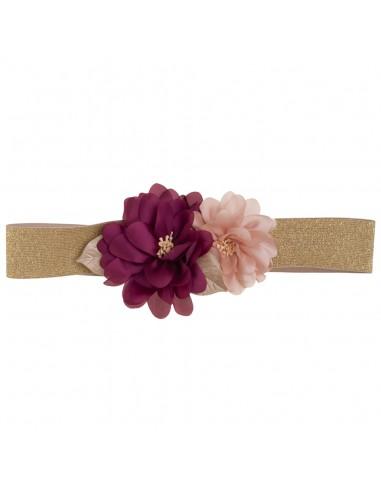 Cinturón Giulia Buganvilla/Rosa/Oro