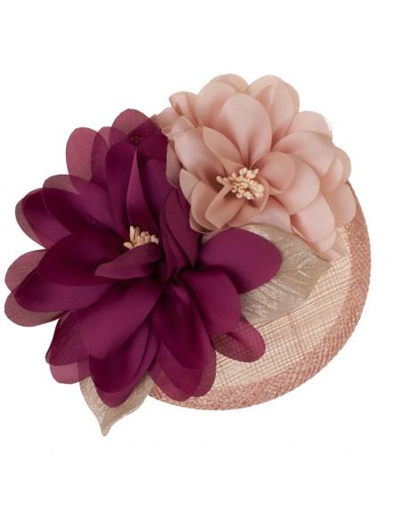 rosa nude/granate