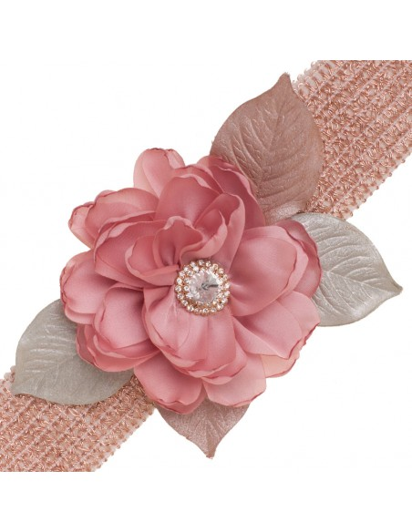 cinturon de fiesta tina rosa viejo